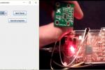 1 Aplicación 5 con SADE en JAVA. I2C - Acelerómetro digital