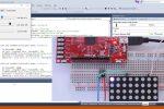 1 Aplicación 7 con SADE en C#. IOPin como PWM - Control de un LED RGB